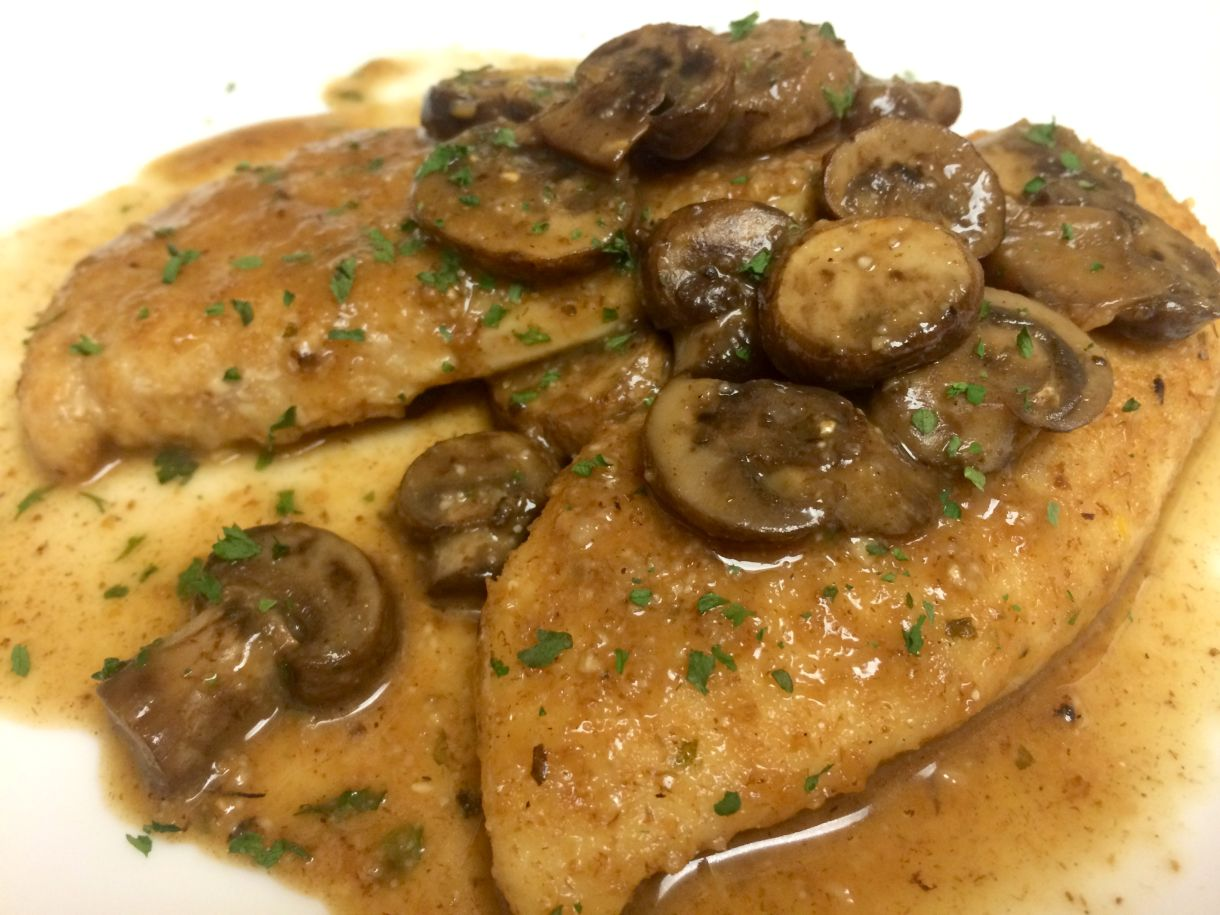 Chicken Marsala Recipe and Ingredients