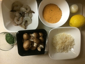 Shrimp étouffée ingredients